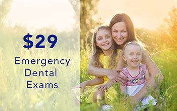 Emergency Dental Exam Offer